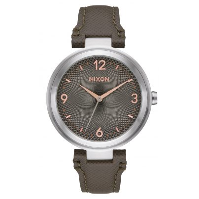 Nixon A992 2271 Chameleon Leather Damenuhr 3608700773568