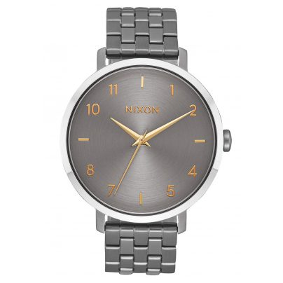 Nixon A1090 2765 Damenuhr Arrow Gunmetal 3608700231198