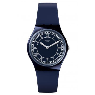 Swatch GN254 Armbanduhr in Unisexgröße Blue Ben 7610522776388