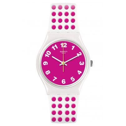 Swatch GW190 Damenarmbanduhr Pinkdots 7610522778832