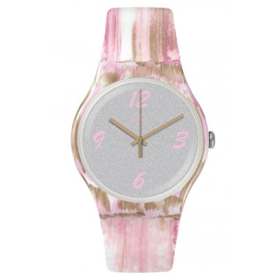Swatch SUOW151 Ladies Watch Pinkquarelle 7610522780453