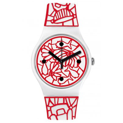 Swatch SUOZ259C Damenarmbanduhr Cutotto 7610522780187