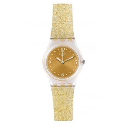 Swatch LK382 Damen-Armbanduhr Golden Glistar Too 7610522784277