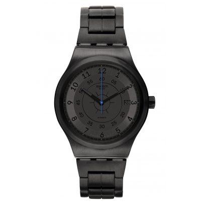 Swatch YIB401G Herren-Automatikuhr Sistem Dark 7610522790971