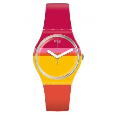 Swatch GW198 Damenuhr Roug'Heure 7610522791749