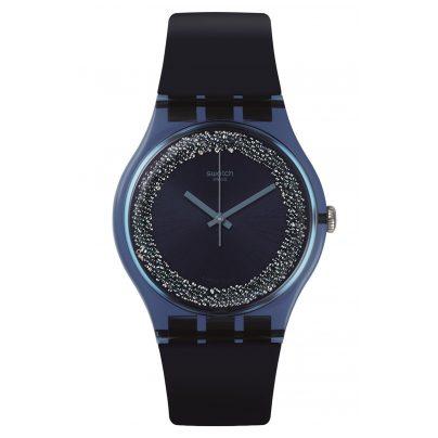 Swatch SUON134 Damenarmbanduhr Blusparkles 7610522791770