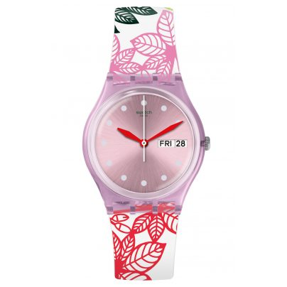 Swatch GP702 Damenuhr Summer Leaves 7610522797383