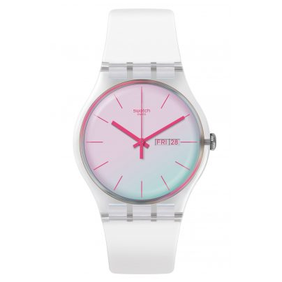 Swatch SUOK713 Damenuhr Polawhite 7610522814028