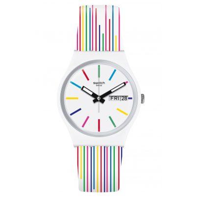 Swatch GW712 Damenuhr White Samba 7610522810952