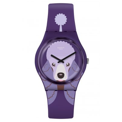 Swatch GV133 Women's Watch Purple Poodle 7610522812475