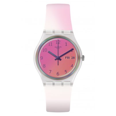 Swatch GE719 Damenuhr Ultrafushia 7610522814004