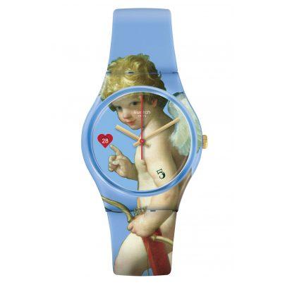 Swatch GZ414 Damenuhr Fleche d'Amour 7610522819184