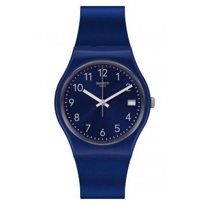 Swatch GN416 Wristwatch Silver in Blue 7610522821736