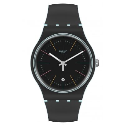 Swatch SUOS402 Uhr Black Layered 7610522821835