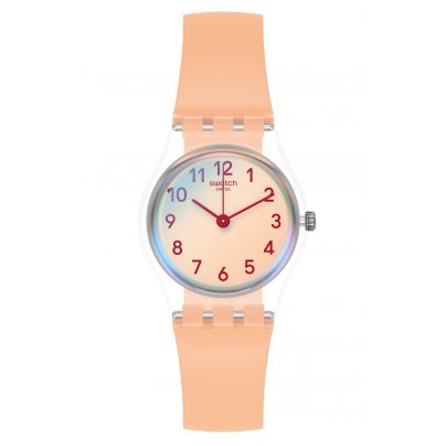 Swatch LK395 Damenuhr Casual Pink 7610522820777