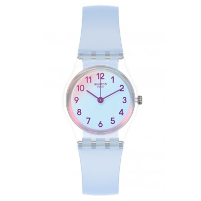 Swatch LK396 Damenuhr Casual Blue 7610522820241