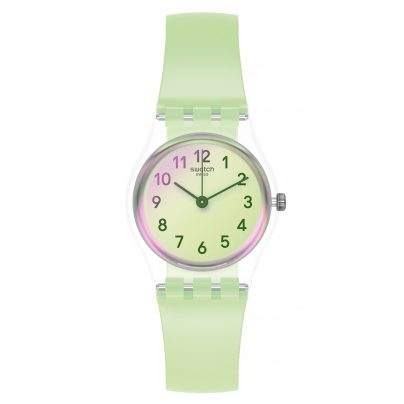 Swatch LK397 Ladies' Watch Casual Green 7610522822344