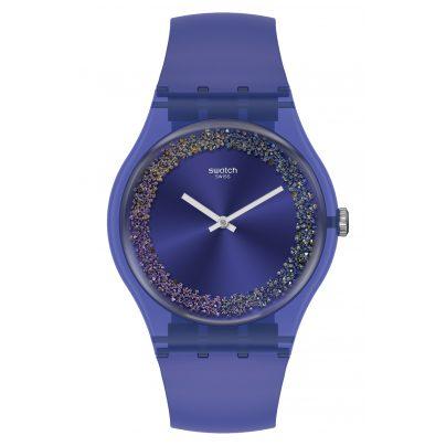 Swatch SUOV106 Ladies' Watch Purple Rings 7610522820890