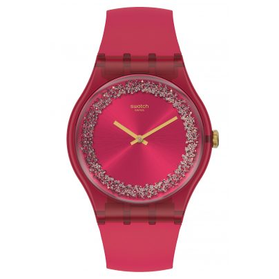 Swatch SUOP111 Damenuhr Ruby Rings 7610522820913