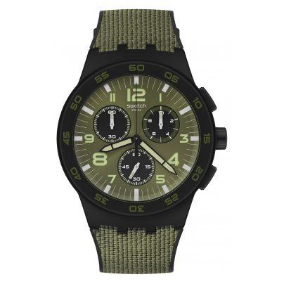 Swatch SUSB105 Men's Watch Chronograph Dark Forest 7610522821767