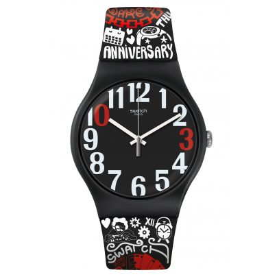 Swatch SUOZ322 Wristwatch 30 And Ticking 7610522820883