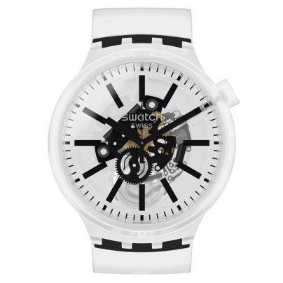 Swatch SO27E101 Big Bold Armbanduhr Blackinjelly 7610522826397
