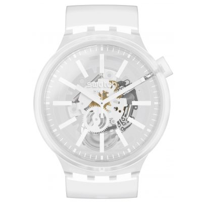 Swatch SO27E106 Big Bold Armbanduhr Whiteinjelly 7610522826403