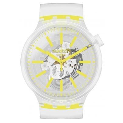 Swatch SO27E103 Big Bold Armbanduhr Yellowinjelly 7610522827783