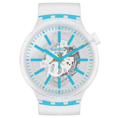 Swatch SO27E105 Big Bold Uhr Blueinjelly 7610522827776