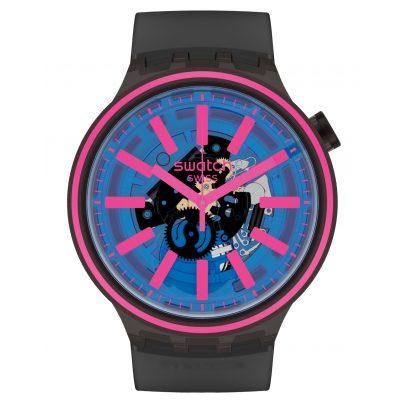 Swatch SO27B111 Big Bold Armbanduhr Blue Taste 7610522830165