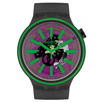 Swatch SO27B113 Big Bold Armbanduhr Pink Taste 7610522830189