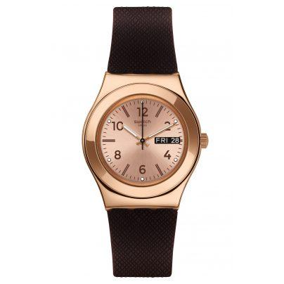 Swatch YLG701 Damenuhr Brownee 7610522786059