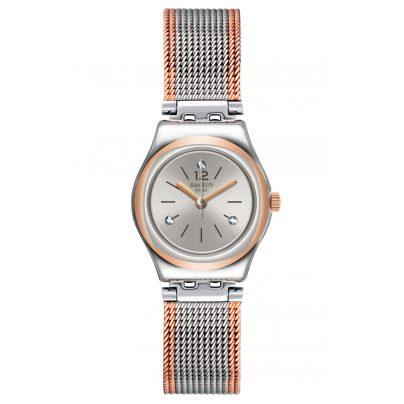 Swatch YSS327M Damenarmbanduhr Full Silver Jacket 7610522799165