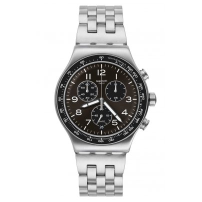 Swatch YVS465G Irony Herrenuhr Chronograph Deepgrey 7610522819702