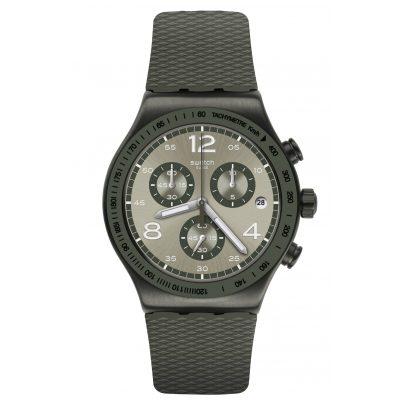 Swatch YVM404 Irony Herrenuhr Chronograph Turf Wrist 7610522823273