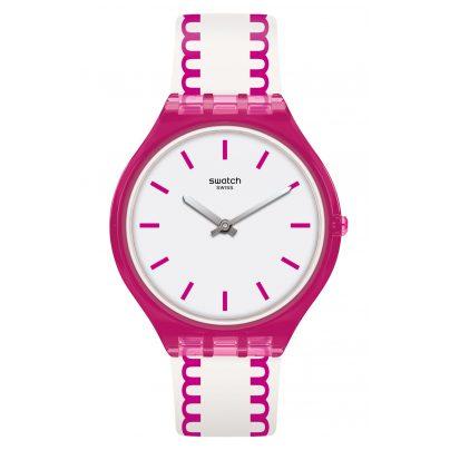 Swatch SVOP102 Skin Armbanduhr für Damen Skinpunch 7610522780255