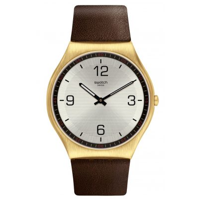 Swatch SS07G100 Armbanduhr Skin Suit Coffee 7610522822399