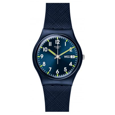 Swatch GN718 Sir Blue Armbanduhr 7610522685352