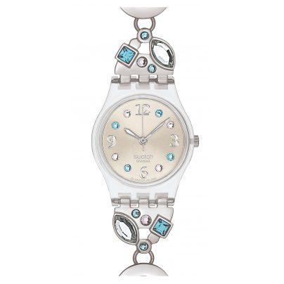 Swatch LK292G Menthol Tone Damenuhr 7610522440111