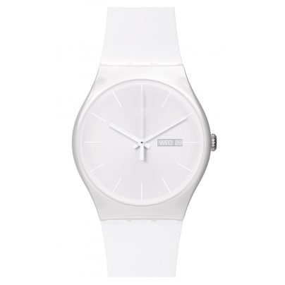 Swatch SUOW701 White Rebel Armbanduhr 7610522252530