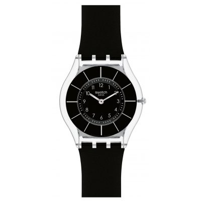 Swatch SFK361 Black Classiness Damenuhr 7610522540514