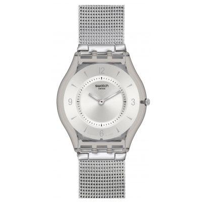 Swatch SFM118M Metal Knit Damenuhr 7610522540521
