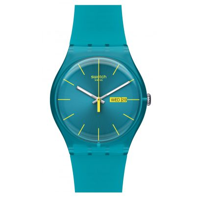 Swatch SUOL700 Turquoise Rebel Damenuhr 7610522253766
