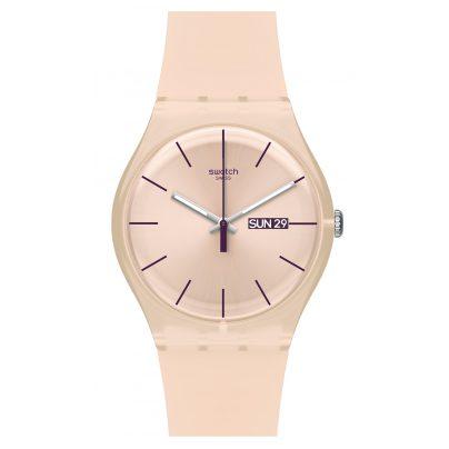 Swatch SUOT700 Rose Rebel Damen-Armbanduhr 7610522254275