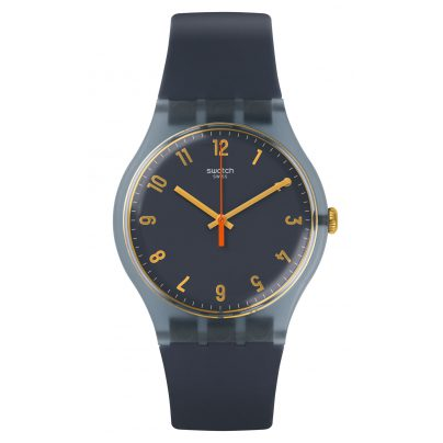 Swatch SUOM105 Watch Nuit Bleue 7610522690875
