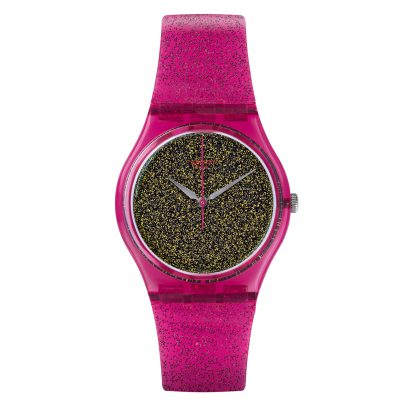 Swatch GP149 Nuit Rose Damenarmbanduhr 7610522691001