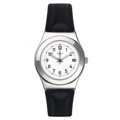 Swatch YLS453 Licorice Ladies Watch 7610522569874
