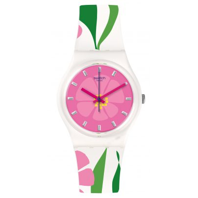 Swatch GZ304 Primevere Ladies Wrist Watch 7610522692985