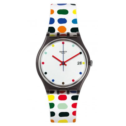 Swatch GM417 Milkolor Damenarmbanduhr 7610522692756