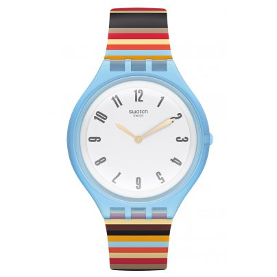 Swatch SVUL100 Skin Big Damenuhr Skinstripes 7610522767768